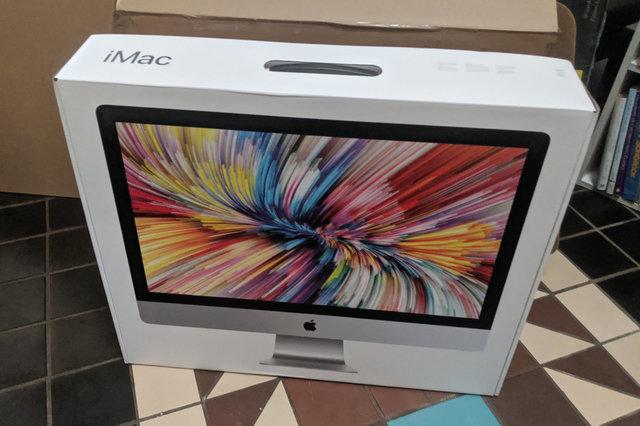 iMac packaging