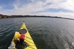 Kayak on Elkhorn Slough