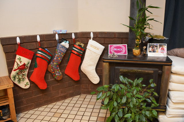 Stockings hung by the stovepipe with care