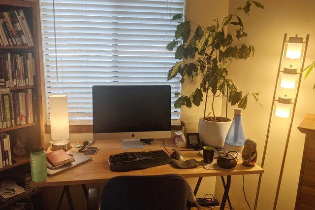 Jaeger's sitting desk
