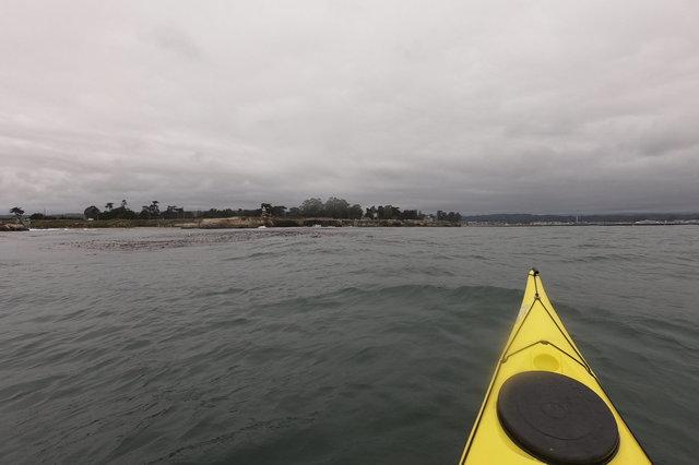 Kayak turns back to Lighthouse Point