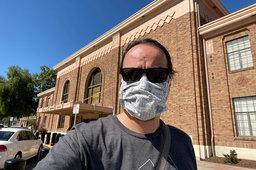 Jaeger in front of San Jose Diridon Station