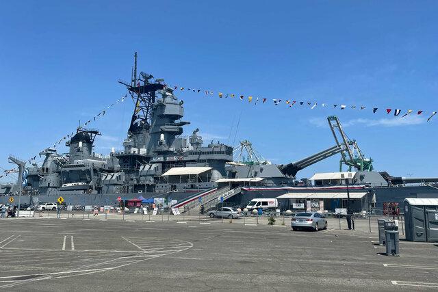 USS Iowa as a museum ship
