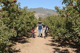 Julian, Kiesa, and Calvin at Gizdich Ranch