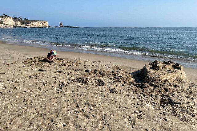 Julian on Four Mile Beach