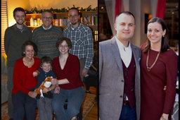 Logan family Christmas photo 2014