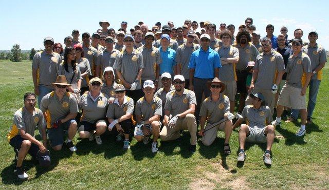 Golf group photo