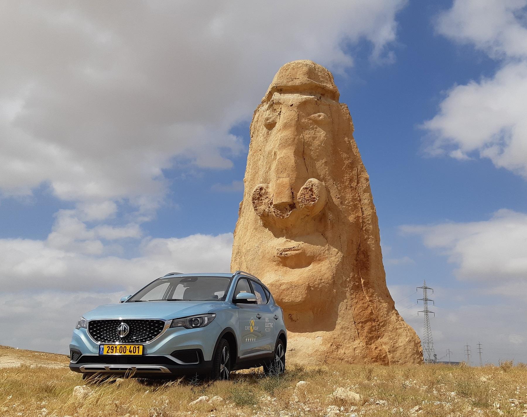מבחן דרכים לסינית החשמלית MG ZS EV