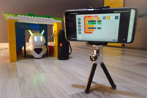 Smart Home z robotem Photon – zdalne dźwięki audio i włamywacze