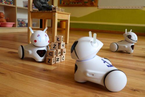 Wyzwanie: szyfr robotów