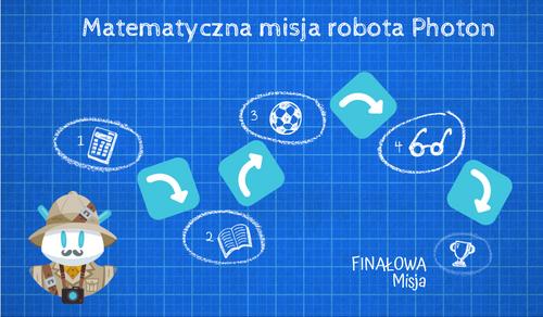 Robot Photon na tropach matematyki