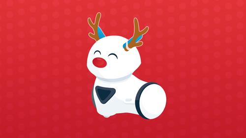 Od wierszyka do filmiku – świąteczne zabawy z robotem Photon