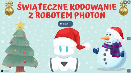 Świąteczne kodowanie z robotem Photon