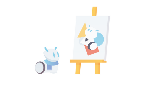 Abstrakcyjna twórczość z robotem Photon (Międzynarodowy Dzień Kropki)