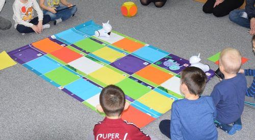 Robot Photon nabiera kolorów