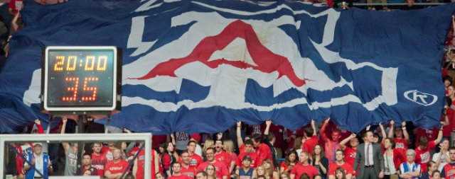 Final home game marks passing of Lute Olson era at UA