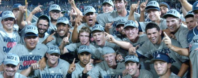 National Champs! UA baseball undefeated thru CWS play