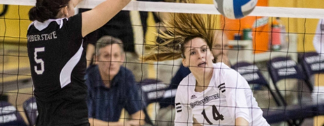 NAU volleyball nets just the third 20-win season in history