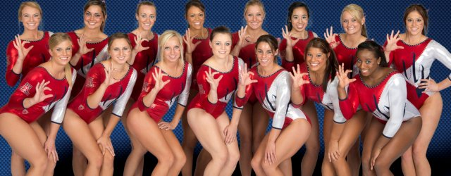 UA gymnasts facing one of country's toughest schedules