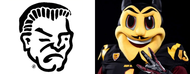 ASU's new Sparky can't compete with Yuma High's Criminal
