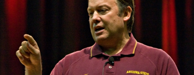 Dr. Crow needs to move to the sidelines of ASU sports
