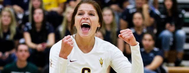 ASU volleyball stuns, sweeps No. 2 Texas in Illini Classic
