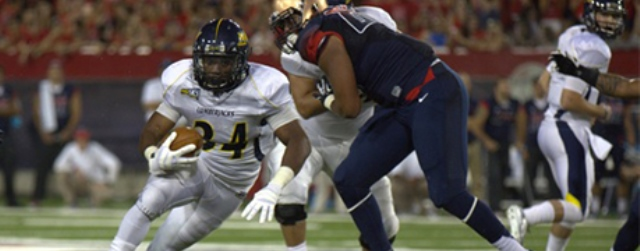 Another payday for NAU football, an easy 35-0 win for UA