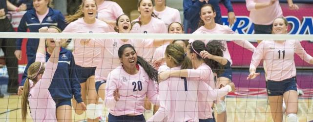 Sweep of No. 1 USC moves UA volleyball into nat'l rankings