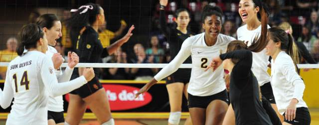 ASU, UA volleyball begin NCAA Tournament play today