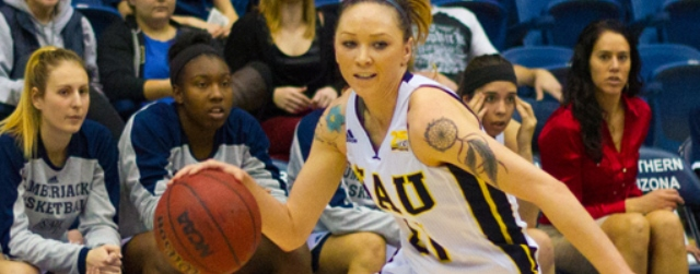Frost has 38 pts, but can't get NAU women to postseason