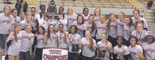 Women's track brings home first D-I conference title to GCU