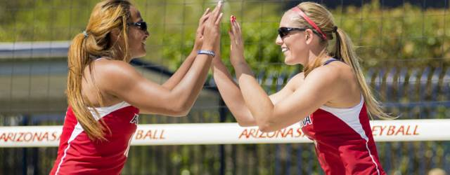 Sand volleyball matching up AZ colleges at all levels