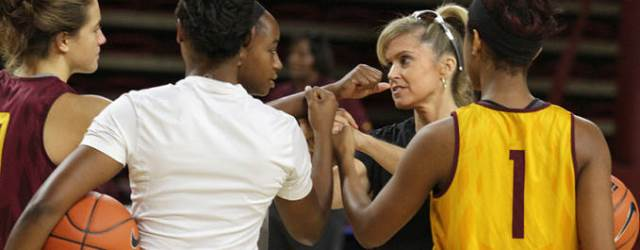 Charli taking ASU women's hoops to new heights – literally