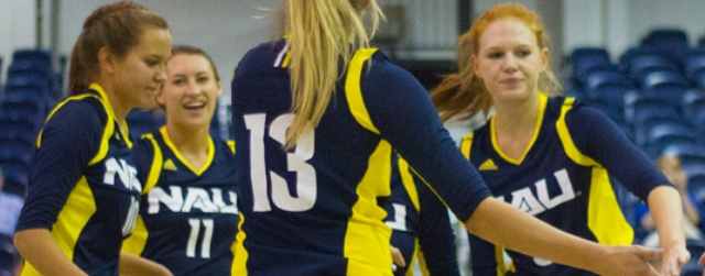 Tourney special: Undefeated NAU volleyball vs. 5-1 GCU