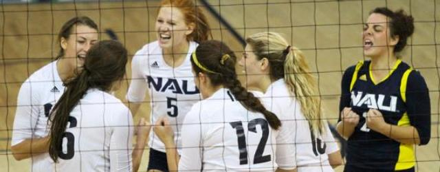 Local prep players key to strong start for NAU volleyball