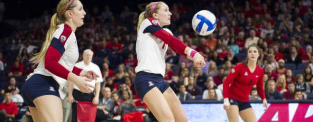 ASU, UA volleyball teams hold their own vs. No. 1 Stanford