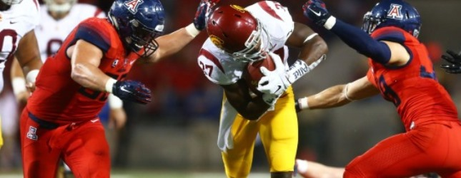 No longer unbeaten: UA football runs out of late escapes
