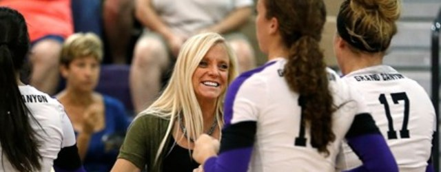 Coach Naber is proving GCU volleyball belongs in D-I