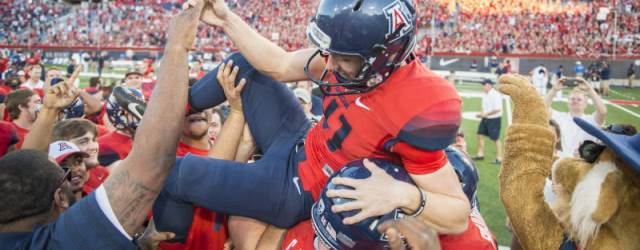 UA football stuns Washington with last-second FG