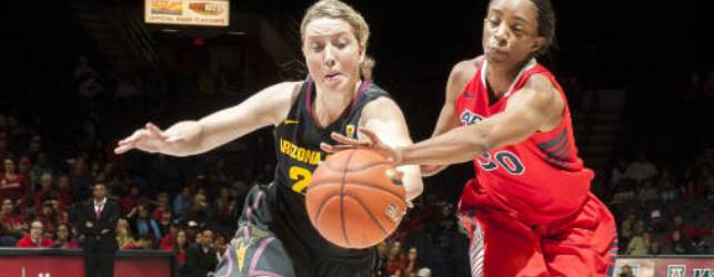 ASU women dominate in 88-41 hoops win over UA
