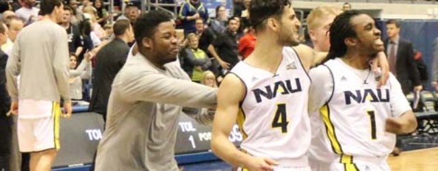 Upset win earns berth in Big Sky Tourney for NAU men