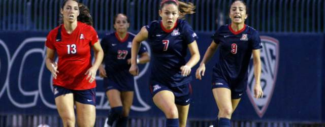 UA soccer 'tunes up' for season by playing top-20 team
