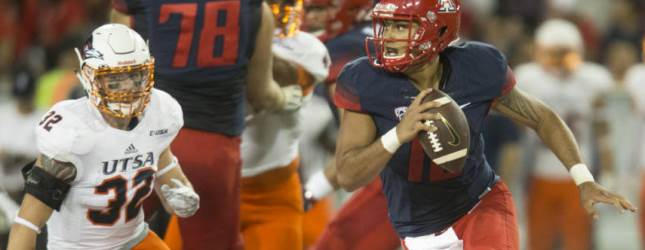 Without Scooby, UA football struggles to win opener