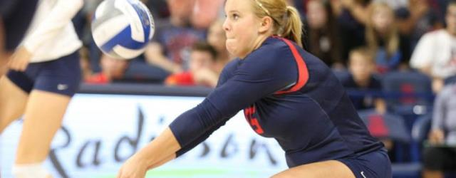 UA volleyball starts 8-1, but No. 2 Texas will be big test