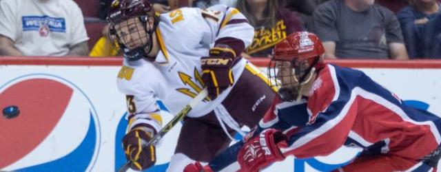 ASU hockey plays first game as NCAA program tonight
