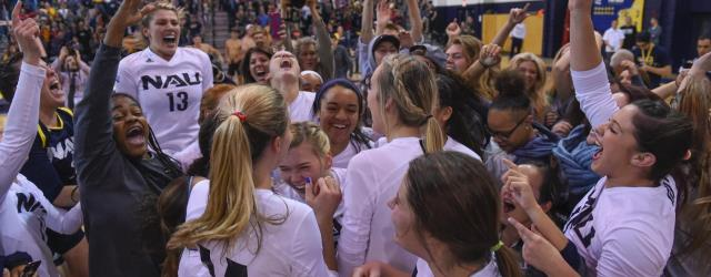 Just 2nd time in history: NAU volleyball in NCAA tourney