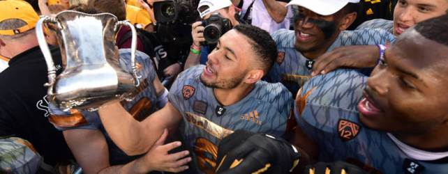 Territorial Cup back in Tempe after ASU's 52-37 win