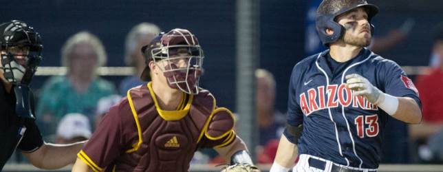 UA, ASU play today for Territorial Cup baseball point