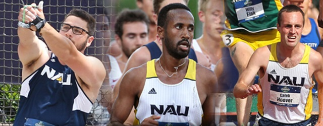 Men's track & field has record-setting year at NAU