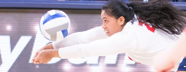 Snuka is 2nd UA volleyball player to reach 5,000 assists